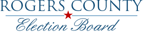 Rogers County Election Board logo